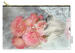 Roses On My Pillow Carry-all Pouch
