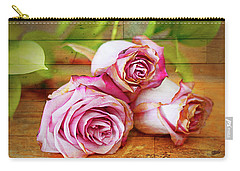 Roses Three Carry-all Pouch