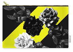 Roses Versus Yellow Carry-all Pouch
