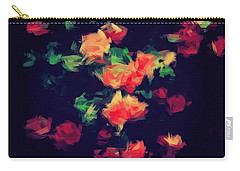 Roses Carry-all Pouch by Wolfgang Rain