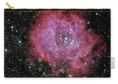 Rosette Nebula In The Constellation Monoceros Carry-all Pouch