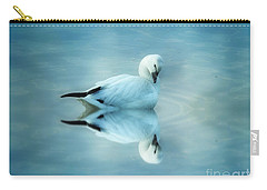 Ross Goose Carry-all Pouch by Suzanne Handel