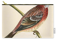 Rosy Bullfinch Carry-all Pouch