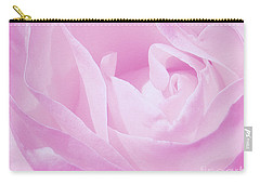 Carry-all Pouch featuring the photograph Rosy Cheek Pink by Janice Westerberg