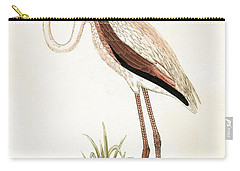 Rosy Flamingo Carry-all Pouch by English School