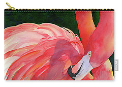 Rosy Outlook Carry-all Pouch by Judy Mercer