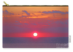 Rosy Sunrise Carry-all Pouch