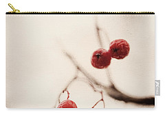 Rote Beeren - Red Berries Carry-all Pouch