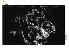 Rottweiler Mozart Portrait Carry-all Pouch