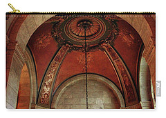 Carry-all Pouch featuring the photograph Rotunda Ceiling by Jessica Jenney