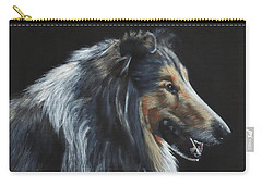 Rough Collie Carry-all Pouch