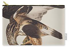Rough Legged Falcon Carry-all Pouch by John James Audubon