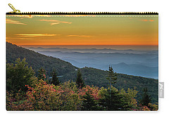 Rough Morning - Blue Ridge Parkway Sunrise Carry-all Pouch