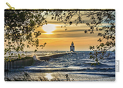 Carry-all Pouch featuring the photograph Rough Opening by Bill Pevlor