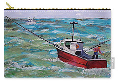 Rough Sea Carry-all Pouch by Mike Caitham