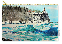 Rough Water At Split Rock Carry-all Pouch