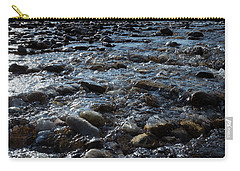 Rough Waters Carry-all Pouch by Helga Novelli