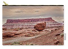 Roun Balance Rock Carry-all Pouch by Daniel Hebard