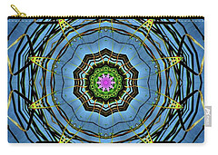 Round And Round  Carry-all Pouch by Christy Ricafrente