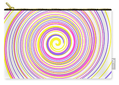 Round And Round Carry-all Pouch