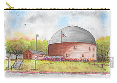 Round Barn In Route 66, Arcadia, Oklahoma Carry-all Pouch