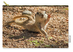 Round-tailed Ground Squirrel Stretch Carry-all Pouch