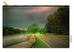 Carry-all Pouch featuring the photograph Round The Bend by Diana Angstadt