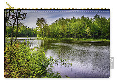 Carry-all Pouch featuring the photograph Round The Bend In Oil 36 by Mark Myhaver