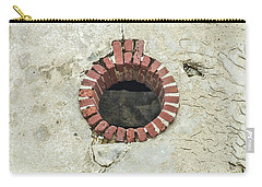 Round Window Carry-all Pouch by Helen Northcott