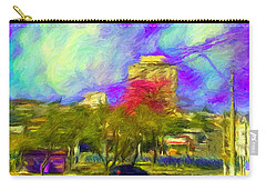 Roundabout In Franca Do Imperador  Carry-all Pouch