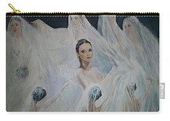 Roundelay. Ballet Dancers Carry-all Pouch