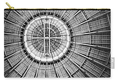Roundhouse Architecture - Black And White Carry-all Pouch