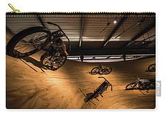 Carry-all Pouch featuring the photograph Rounding The Bend by Randy Scherkenbach