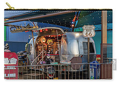 Route 66 And Airstream On Tha Pier Carry-all Pouch