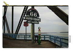 Route 66 Auto Court Carry-all Pouch