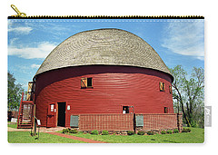 Route 66 - Round Barn Carry-all Pouch by Frank Romeo