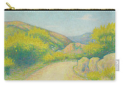 Route De Campagne Carry-all Pouch by Achille Lauge