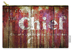 Carry-all Pouch featuring the photograph Route Of The Chief by Lou Novick