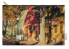 Row Houses Duke Of Gloucester Colonial Williamsburg Carry-all Pouch