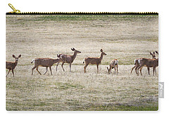 Row Of Deer  Carry-all Pouch
