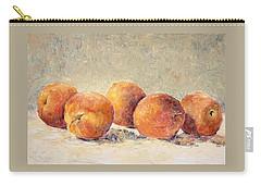 Kokopelli Peaches Carry-all Pouch by Jill Musser