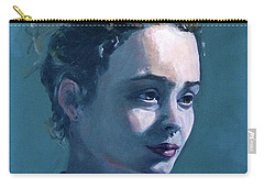Carry-all Pouch featuring the painting Rowan by Diane Daigle