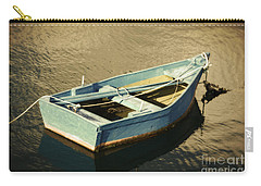 Rowboat At Twilight Carry-all Pouch by Mary Machare