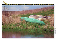 Carry-all Pouch featuring the photograph Rowboat - Canoe by Nikolyn McDonald