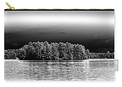Carry-all Pouch featuring the photograph Rowboats At The Dock 3 by David Patterson