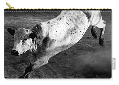 Rowdy Bucking Bull Carry-all Pouch