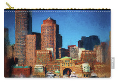 Rowes Wharf Boston Carry-all Pouch