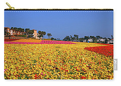 Rows In Bloom Carry-all Pouch by James Kirkikis