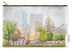 Roxbury Park In Beverly Hills With Century City In The Background, Ca Carry-all Pouch