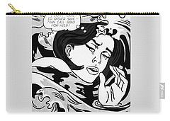 Drowning Girl  Carry-all Pouch